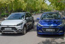 Hyundai elite i20 vs i20 Active Comparison test