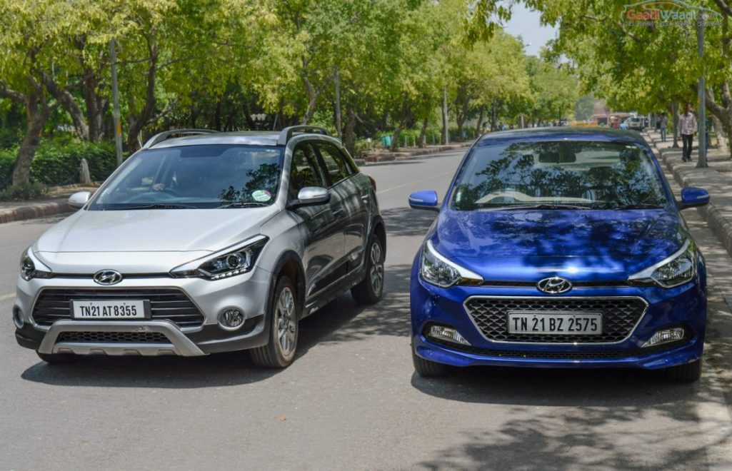 Hyundai Elite I20 Vs Active Comparison Test