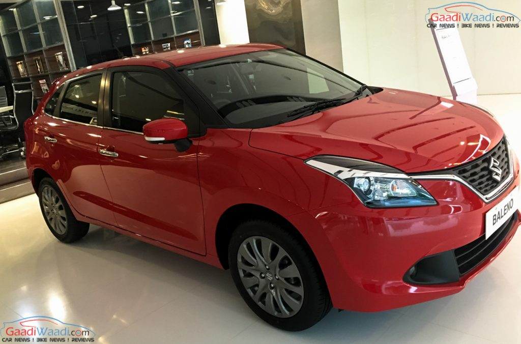Car price compare after gst baleno delta petrol