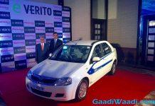 Mahindra e-Verito Launched in India