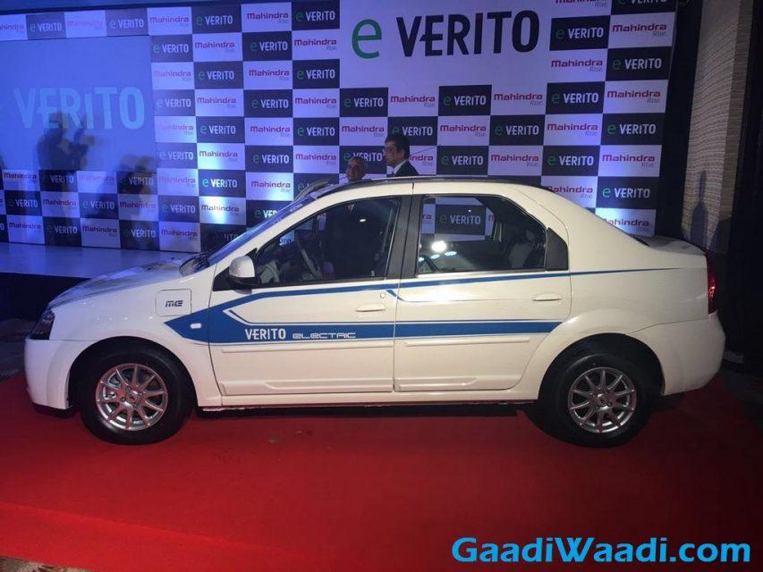 Mahindra e-Verito Launched in India 6
