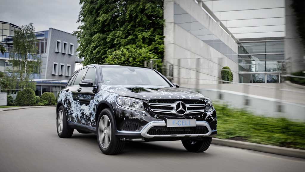 Creative Mercedes Benz Is Also Working On A Fuell Cell Electric Powered GLC It
