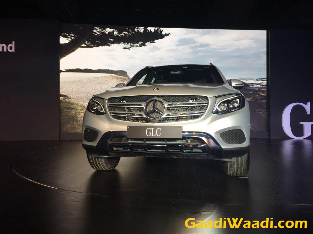 Mercedes benz glc suv launched in india at rs 50 7 lakh for Mercedes benz suv india