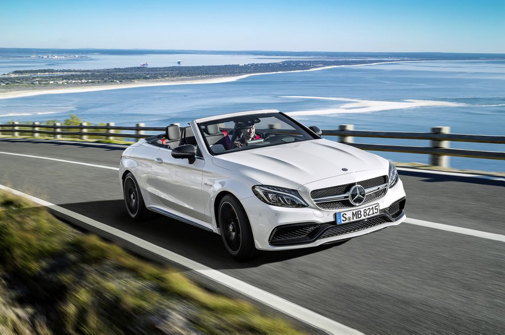 New Mercedes C-Class Cabrio AMG Versions Detailed 3