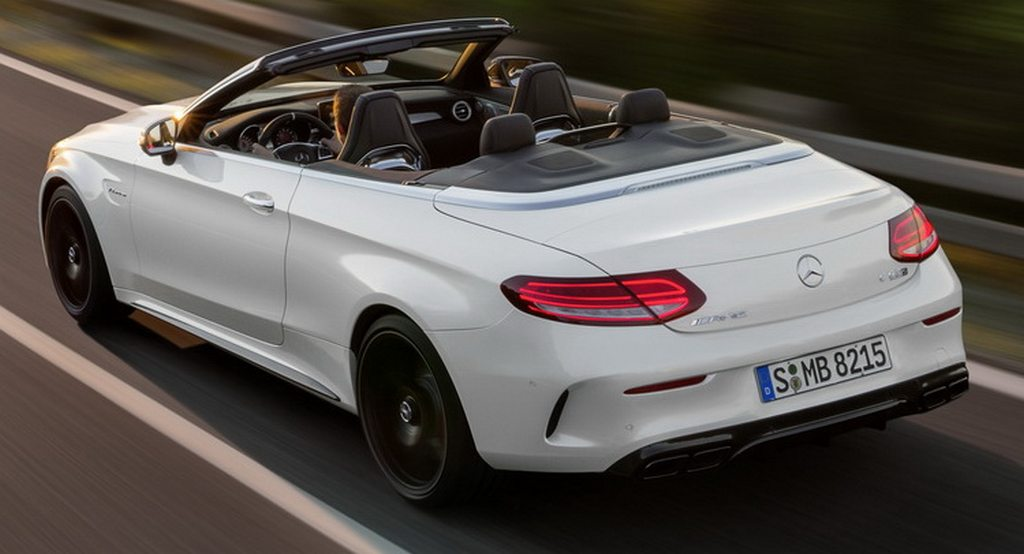 new mercedes c class cabrio amg versions detailed latest car news bikes news. Black Bedroom Furniture Sets. Home Design Ideas