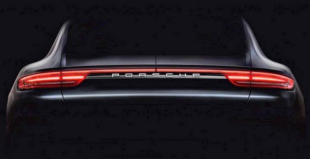 New Porsche Panamera teaser Image