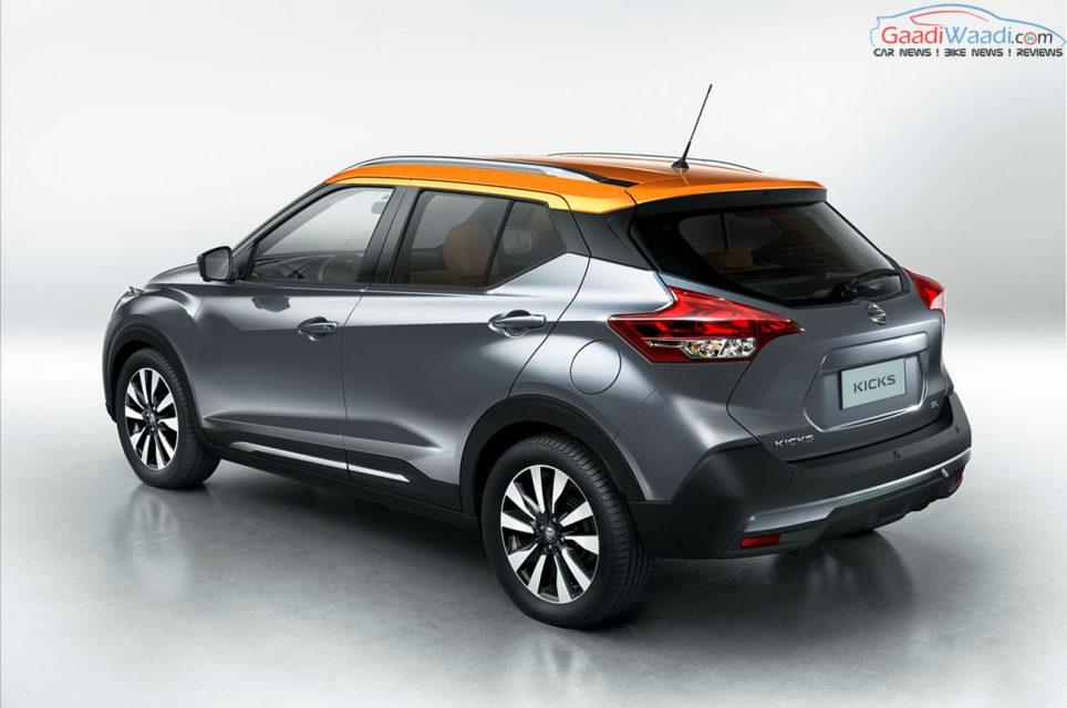 Nissan India Kicks Crossover