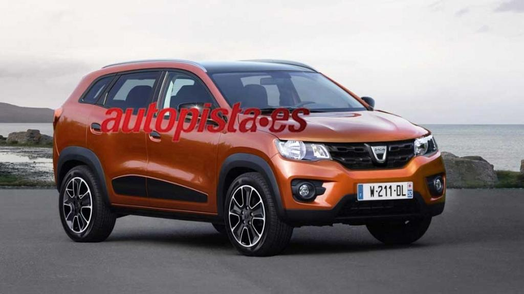 Renault HBC Kwid Based Compact SUV Rendered