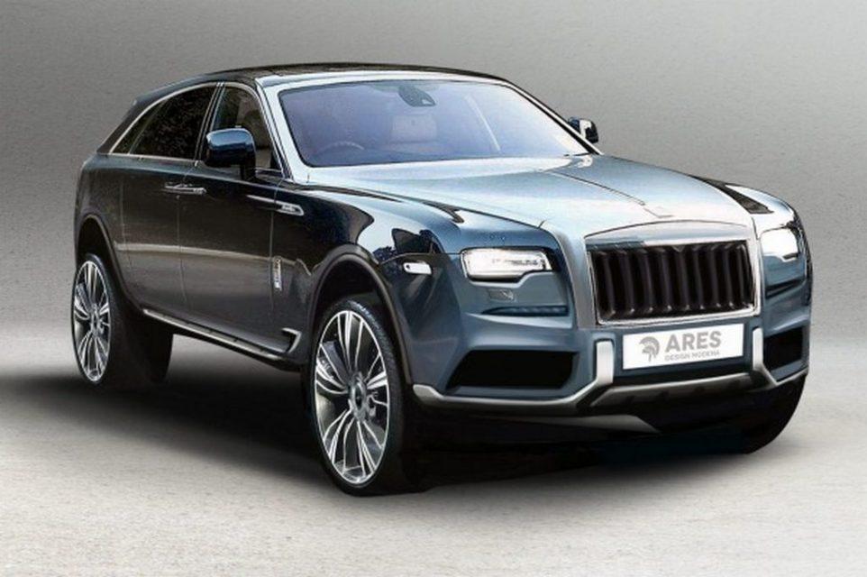 Rolls-Royce SUV Leaked