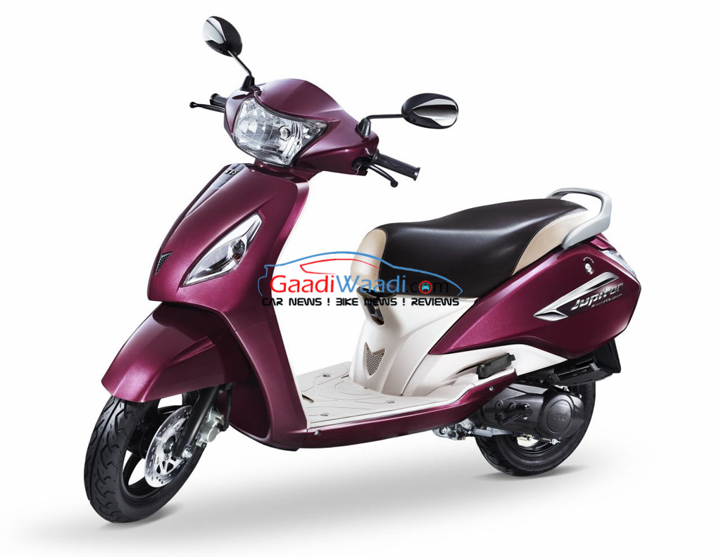Tvs Jupiter Millionr Edition Disc Brake Variant Launched At Rs 53 034 Gaadiwaadi Com Latest