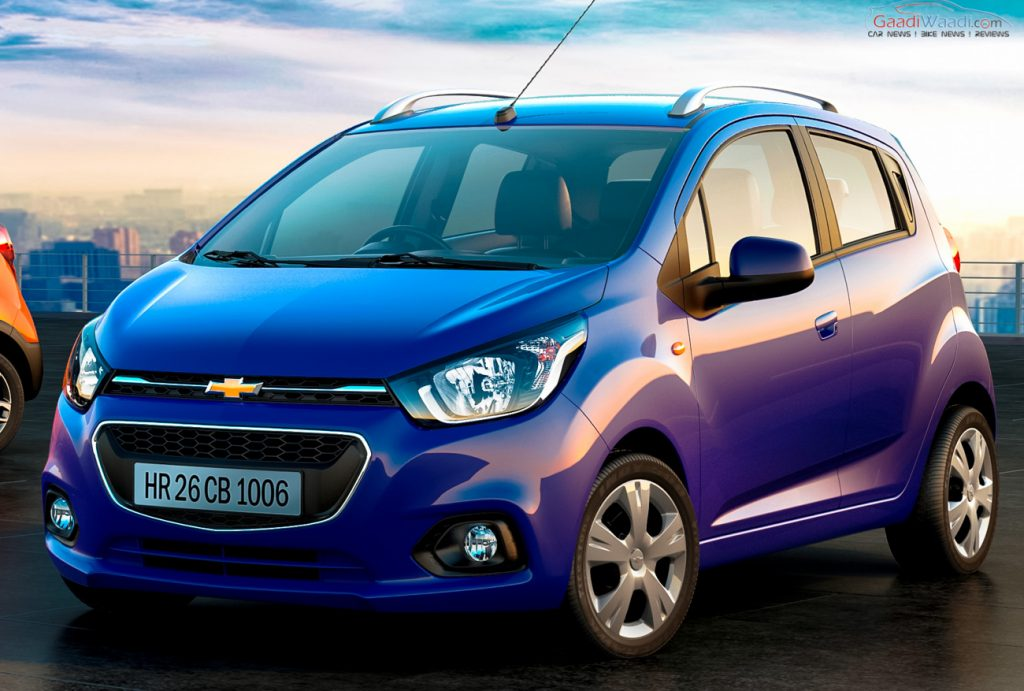 2017 Chevrolet Beat India Launch, Price, Engine, Specs, Features, Review