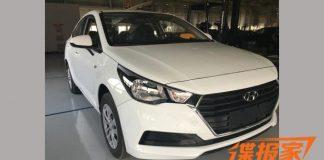 2017 Hyundai Verna Front view