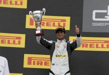 Arjun Maini GP3 Hungary podium 2