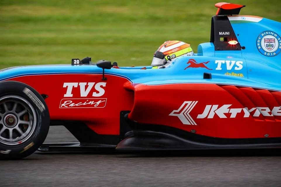 Arjun Maini GP3 Hungary podium