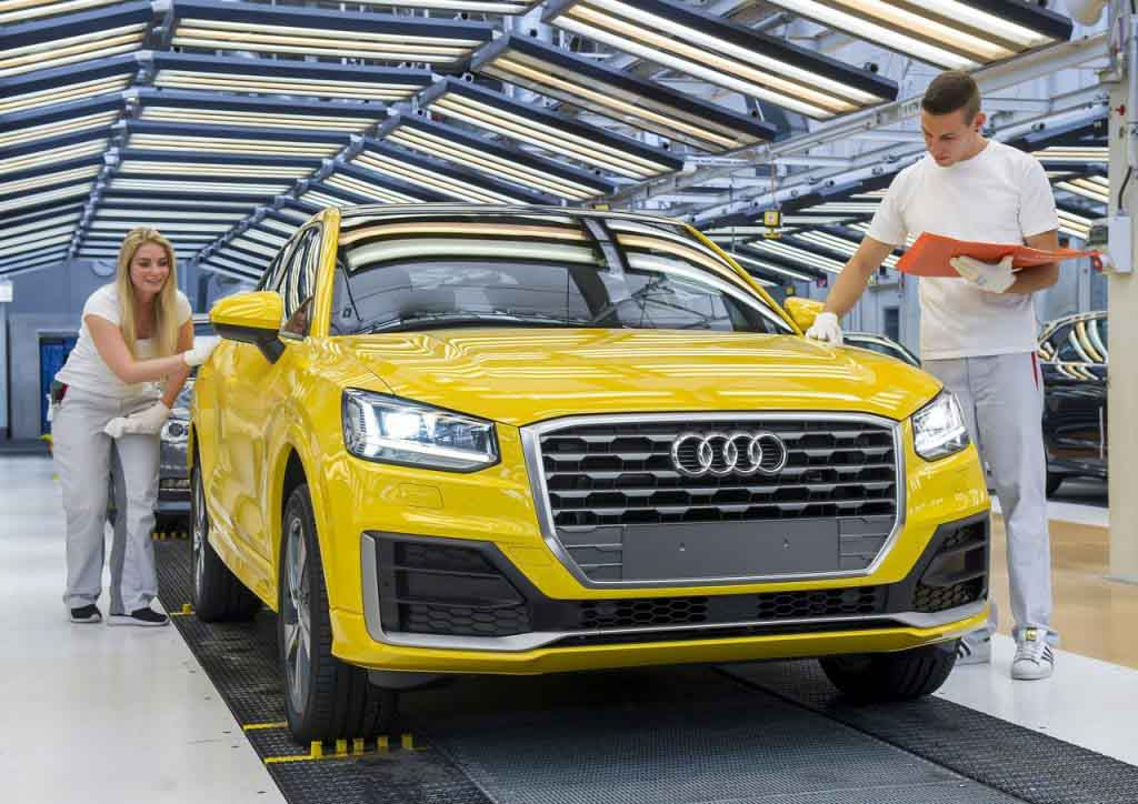 Audi Q2 India >> Audi Aims For Double Digit Growth In India To Launch Q2 Suv