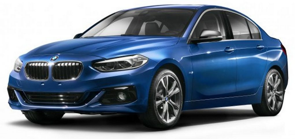 BMW 1-Series Sedan Exclusive for China Unveiled