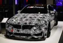 BMW M4 GT4 Race Car