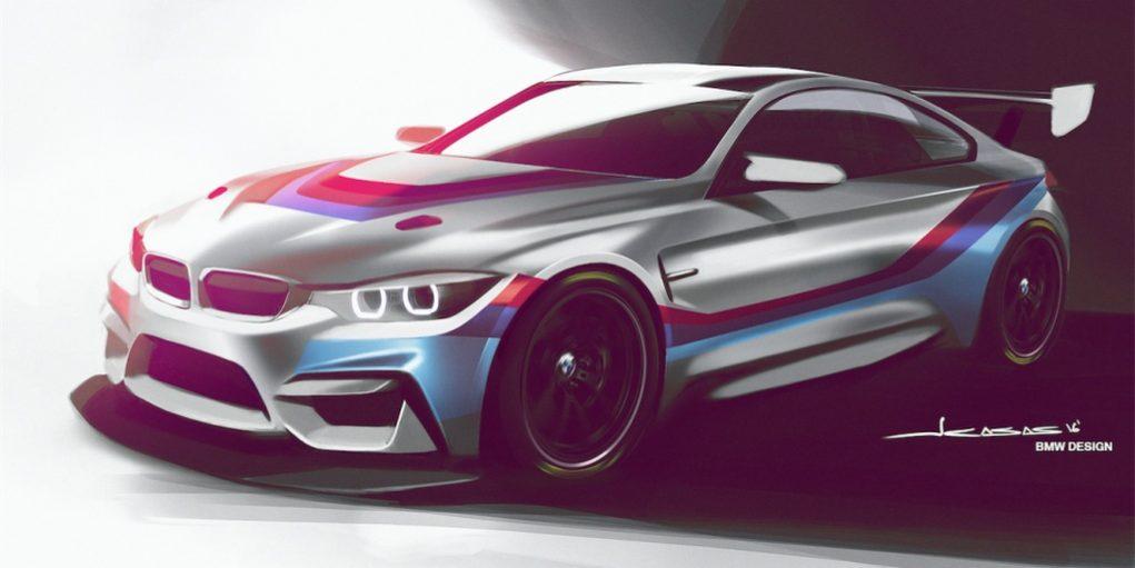 BMW M4 GT4 Race car