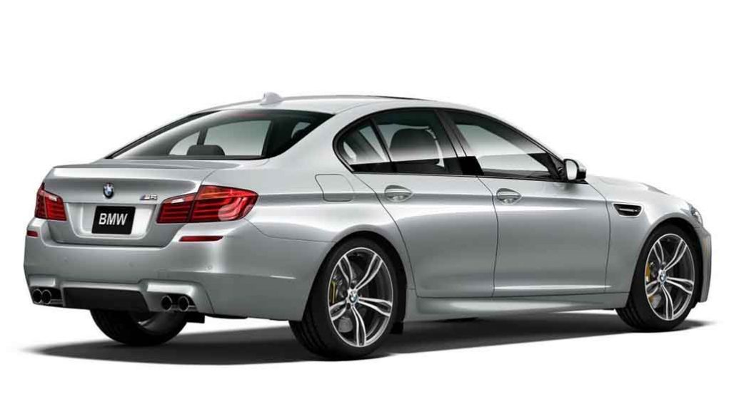 BMW M5 Pure Metal Silver Limited Edition (2)