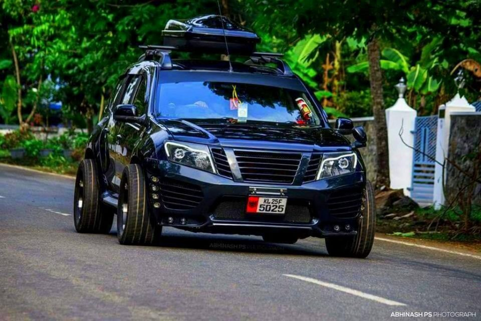 Customised Nissan Terrano 1
