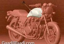Honda CB1100 patented in India