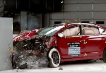 Hyundai Elantra IIHS Crash Test 2