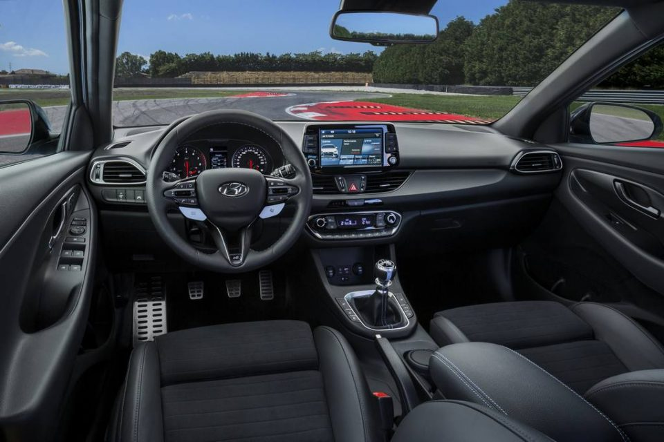 Hyundai i30 N Hot Hatch Revealed Interior