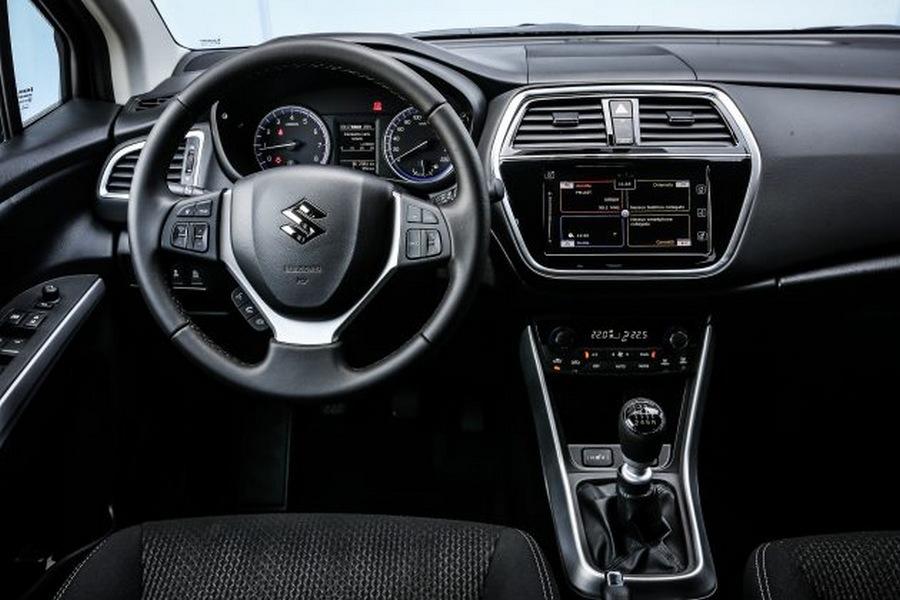 India Bound Suzuki S Cross facelift interiors