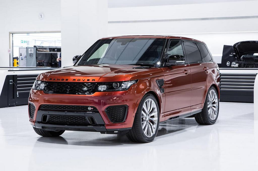 JLR Confirms One SVO Model Each Year Until 2020