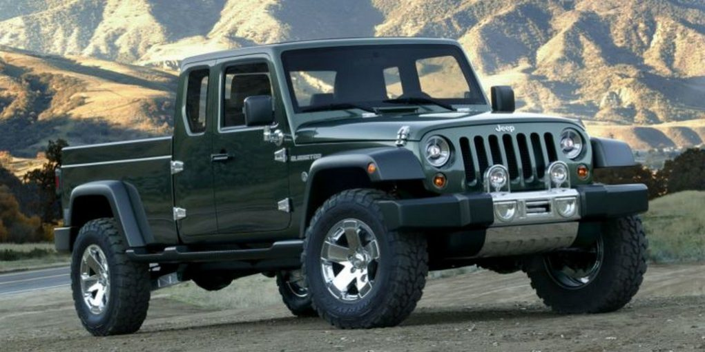 Jeep Gladiator Concept pickup