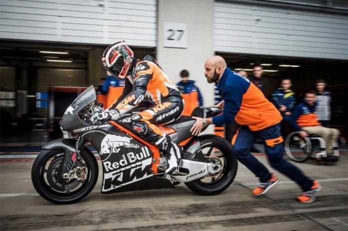 KTM MotoGP Debut