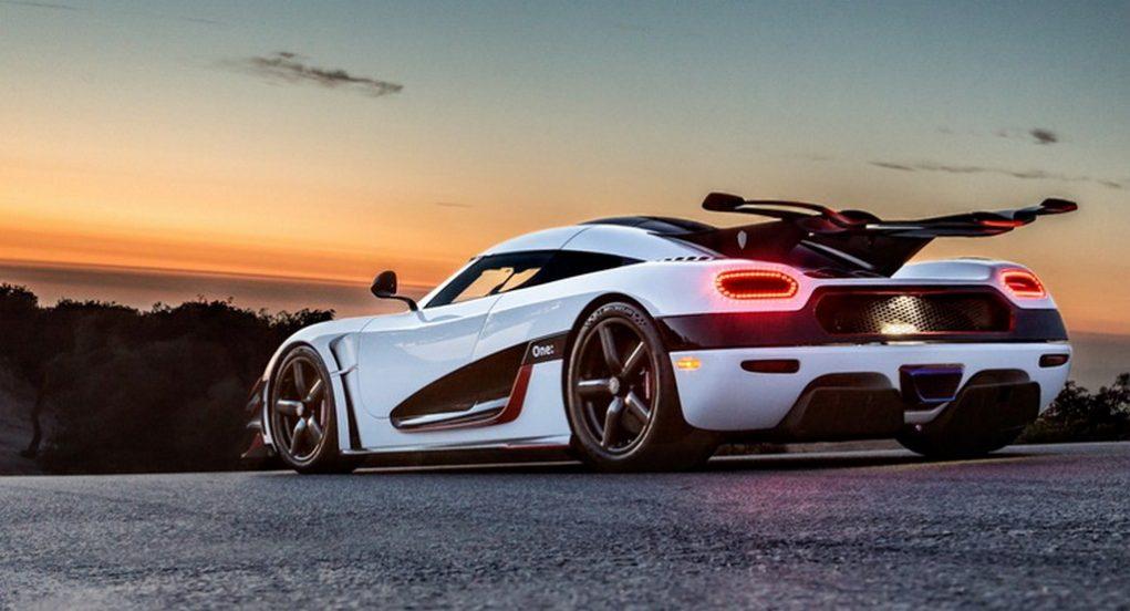 Koenigsegg One 1 rear