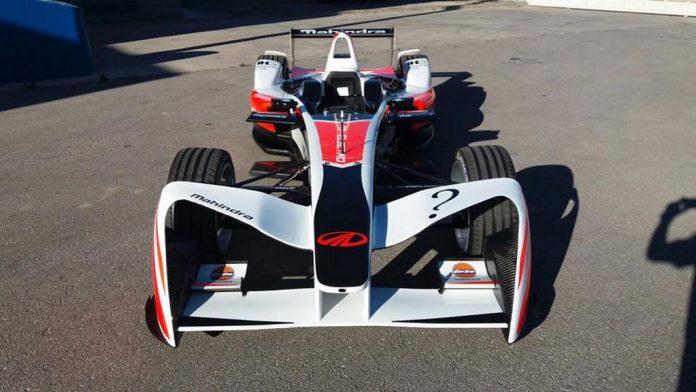 Mahindra Racing Formula E Season 3 Race car 1