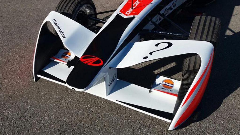 Mahindra Racing Formula E Season 3 Race car 2