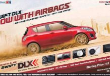Maruti Suzuki Swift DLX Reintroduced with Standard Driver Airbag