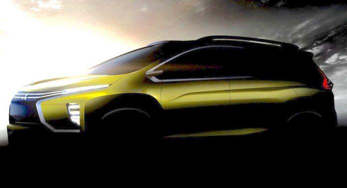Mitsubishi MPV Crossover Concept Teased