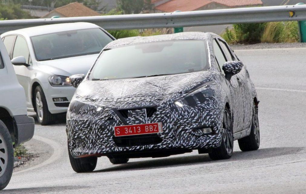 New generation Nissan Micra 1