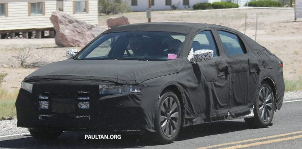 generation honda accord spied testing    time