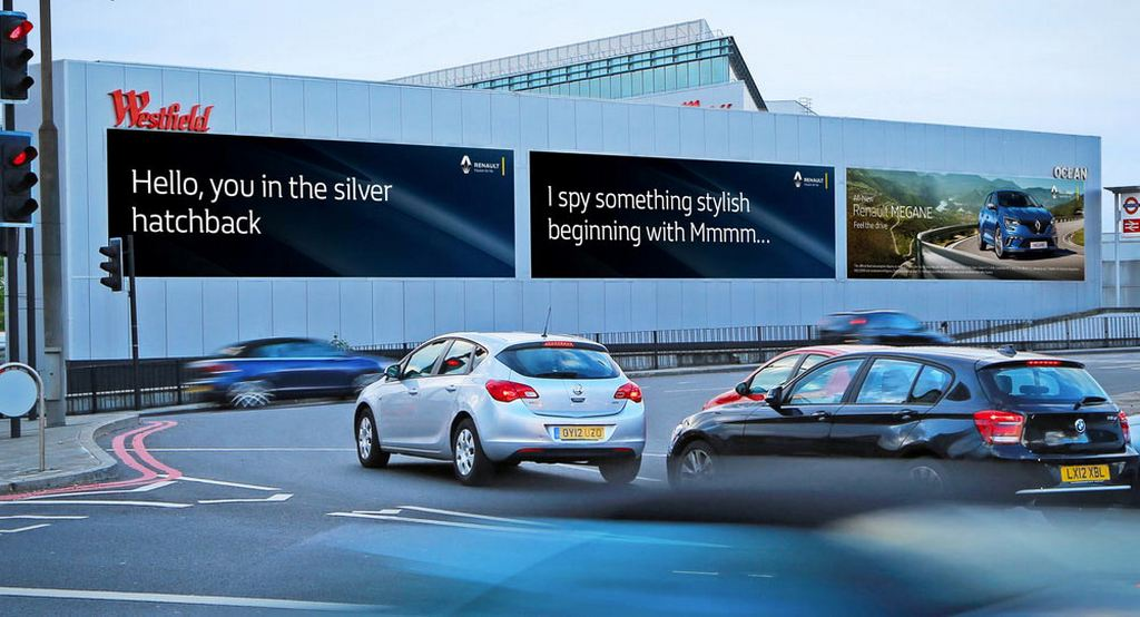 Renault introduces vehicle recognition tech for roadside advertisements