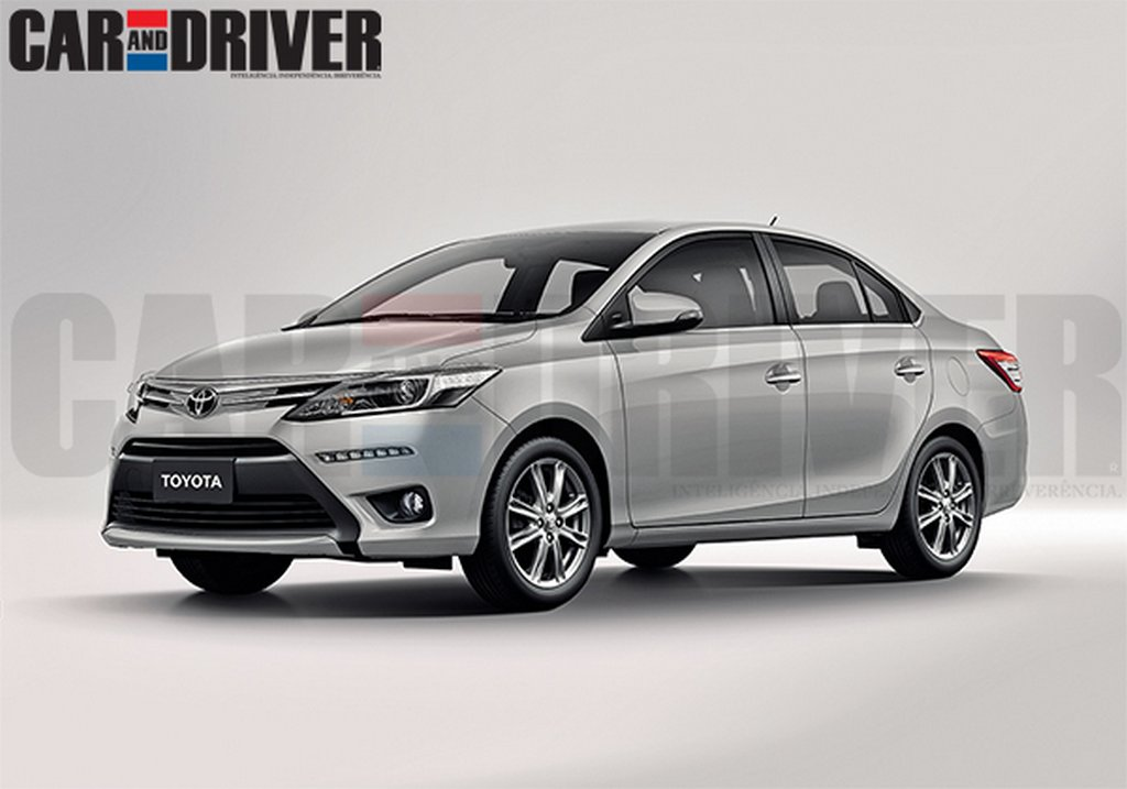Toyota Etios C Rendering