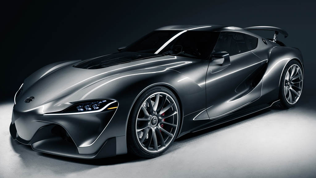 New Toyota Supra Due For 2018 Inspired By The Ft 1 Concept