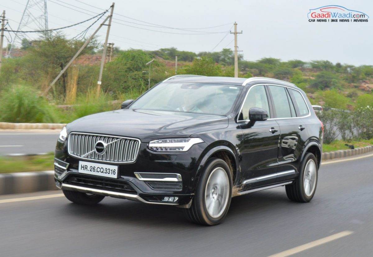 Volvo Xc90 Inscription Price Hiked By Nearly Rs 3 Lakh