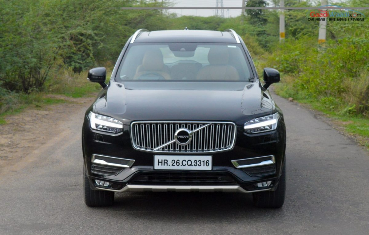 2016 Volvo XC90 Road Test Review - Gaadiwaadi.com - Car News, Bike News, Reviews