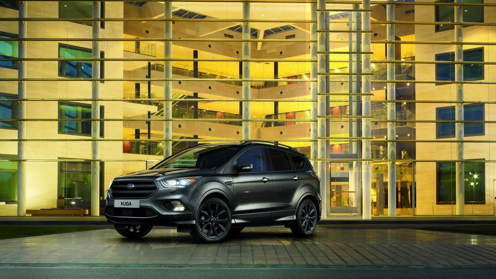 ford kuga st line dark and menacing latest car news bikes news reviews. Black Bedroom Furniture Sets. Home Design Ideas