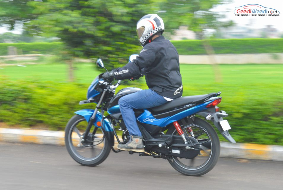 hero splendor 110cc ismart side view-4