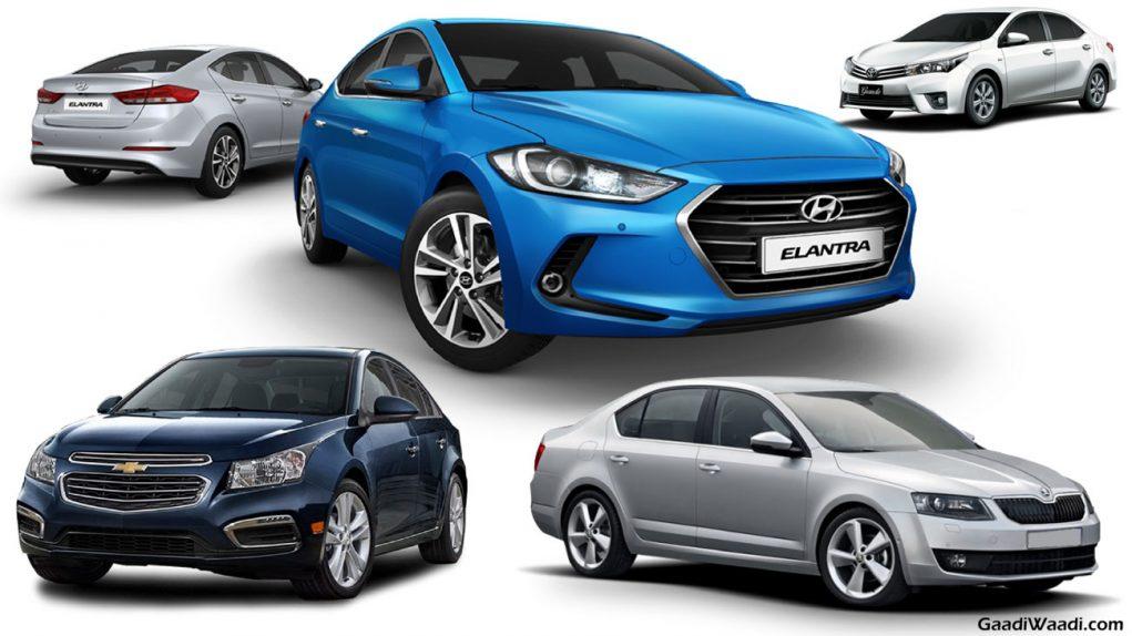 2016 Hyundai Elantra vs Toyota Corolla vs Skoda Octavia vs Chevrolet Cruze-9