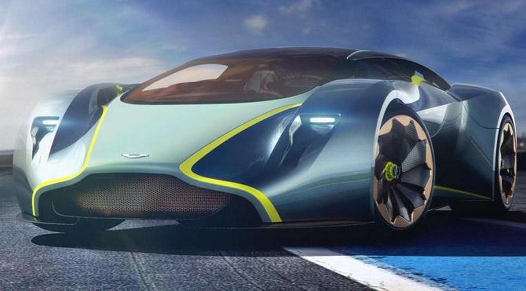 Aston Martin Mid engine supercar 1