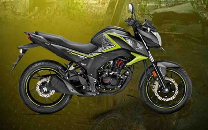 honda cb hor  160r special edition launched in india at