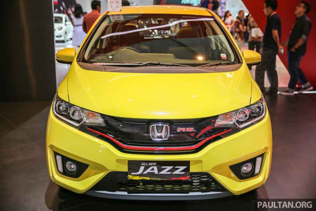 Honda Jazz RS CVT Special Edition Showcased at GIIAS 2016 - Gaadiwaadi ...