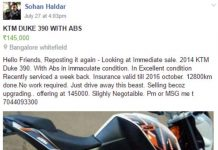 KTM 390 Duke Owner Brutally Murdered Following Online Selling Ad
